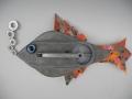 Vintage Chalk Line Fish